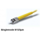Optical Fiber Connector - ST/UPC SM connector, 2.0mm, yellow boot